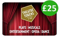 Theatre Tokens Gift Card £25