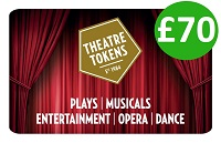 Theatre Tokens Gift Card £70