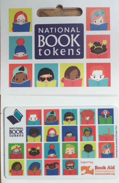 NEW NATIONAL BOOK TOKENS CHARITY DESIGN